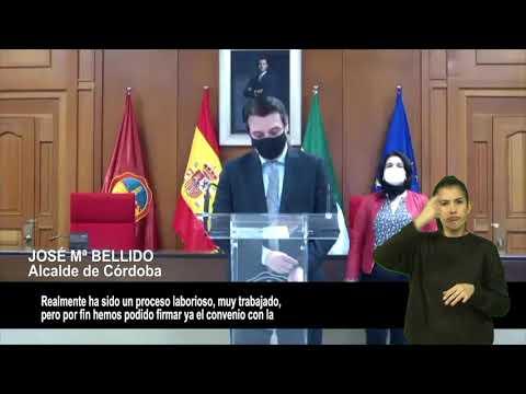 VÍDEOS INCLUSIVOS: Ayuntamiento y Loyola firman el convenio sobre zonas desfavorecidas