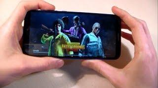 Игры Huawei P20 Lite (GTA:SanAndreas, PUBG:Mobile, Assassin