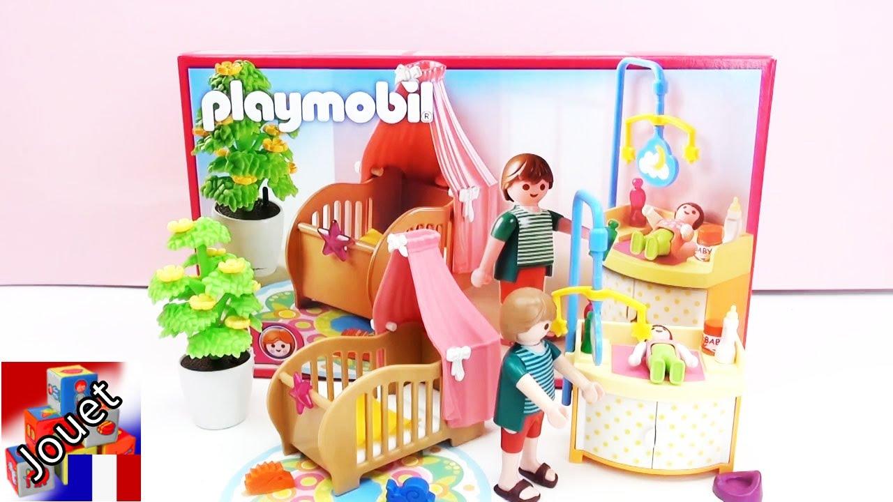 construction et demo de la chambre enchantee du bebe playmobil 5334