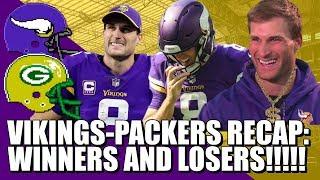 Vikings-Packers Recap: Winners & Losers!