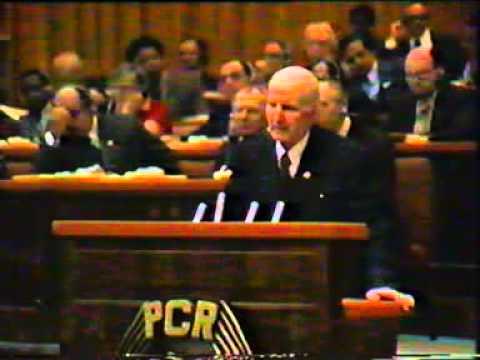 Congresul XII - Parvulescu vs Ceausescu
