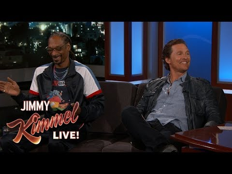 Matthew McConaughey & Snoop Dogg On Getting High And Working Together