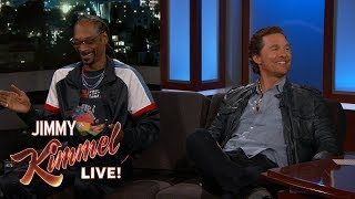 Matthew McConaughey & Snoop Dogg on Getting High and Working Together thumbnail
