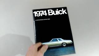 Brochure Buick 1974 (Full-line)