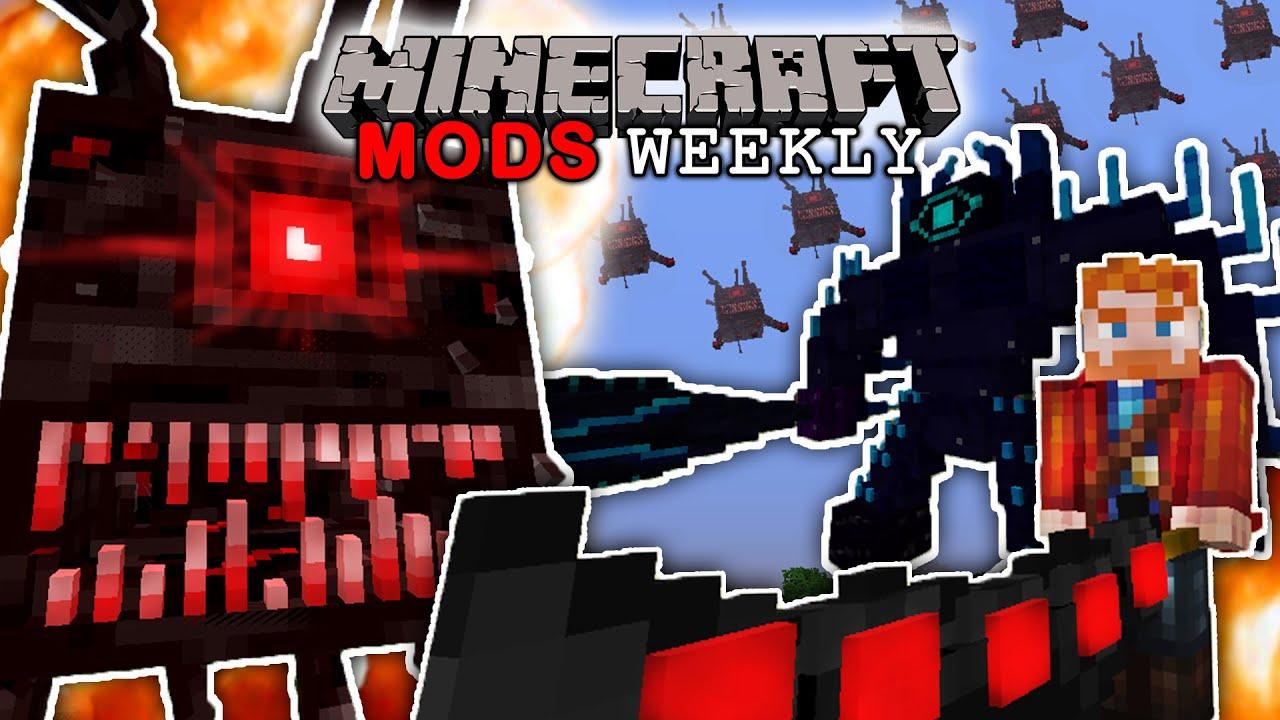 THE BEST RPG MOD EVER !!?  MINECRAFT Mods Weekly  Week 9