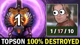 TOPSON destroyed by his Signature Hero — Top 1 MMR Void Spirit