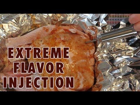 cajun fried turkey injection  sauce