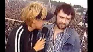 сергей  Шнуров - Интервью на Нашествии 2002