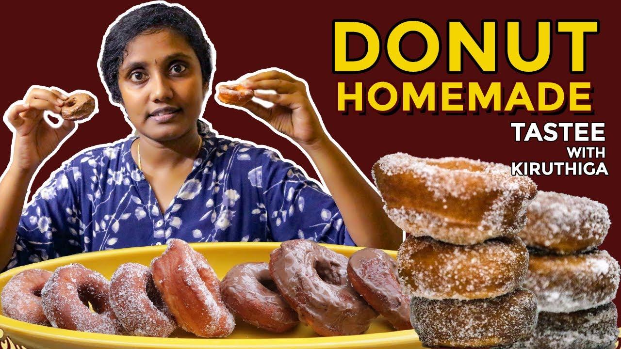 Homemade DONUT 😋I Doughnuts I Tamil Tastee