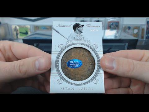 2015 Panini National Treasures Baseball Case Break #26 - Stan Musial Bat Knob!