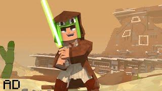 Transforming my Minecraft World into STAR WARS!