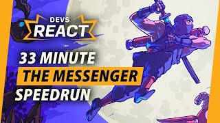 The Messenger Developers React to 33 Minute Speedrun