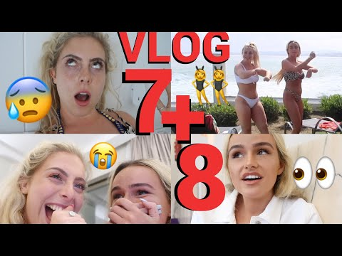 LIVING OUR BEST LIFE ON THE FINAL DAYS! 💔😂 | DAY 7 & 8 SPAIN | SYD AND ELL