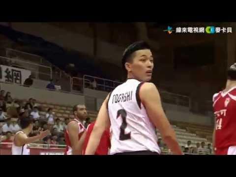 20160725 JPN vs EGY 富樫勇樹 Yuki Togashi highlight 38th William Jones Cup