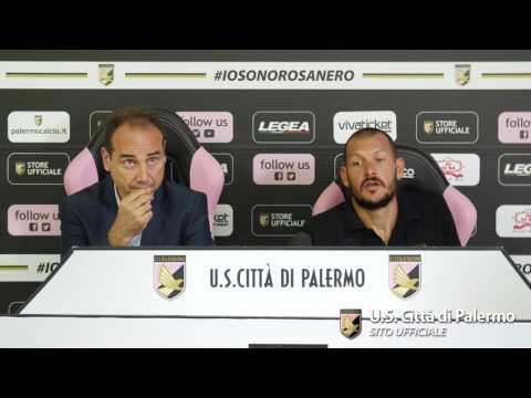 """Pomini: """"Essere a Palermo è un orgoglio"""""""