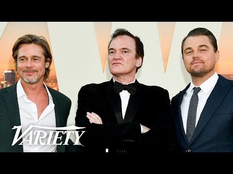 Leonardo DiCaprio & Brad Pitt Talk 'Once Upon a Time in Hollywood,' Working With Quentin Tarantino