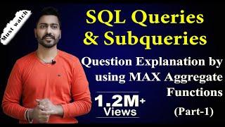 SQL Queries and Subqueries (part-1) | Database Management System Mp3