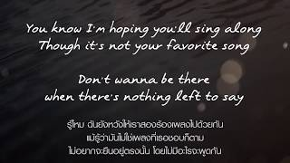 Best Of Me - Daniel Powter (Thai Translate) Follow Me : https://www...