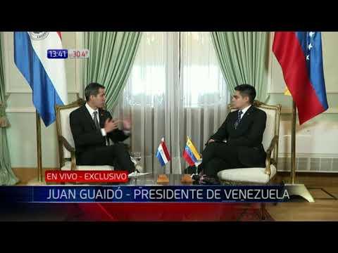 Entrevista exclusiva de Noticias Paraguay a Juan Guaidó