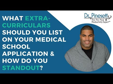 What Extra-Curriculars Should You List On Your Medical
