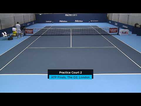 2019 Nitto ATP Finals: Live Stream Practice Court 2 (Monday)