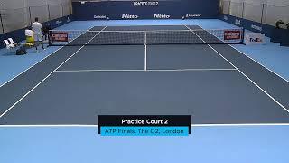 2019 Nitto ATP Finals: Live Stream Practice Court 2 (Monday)