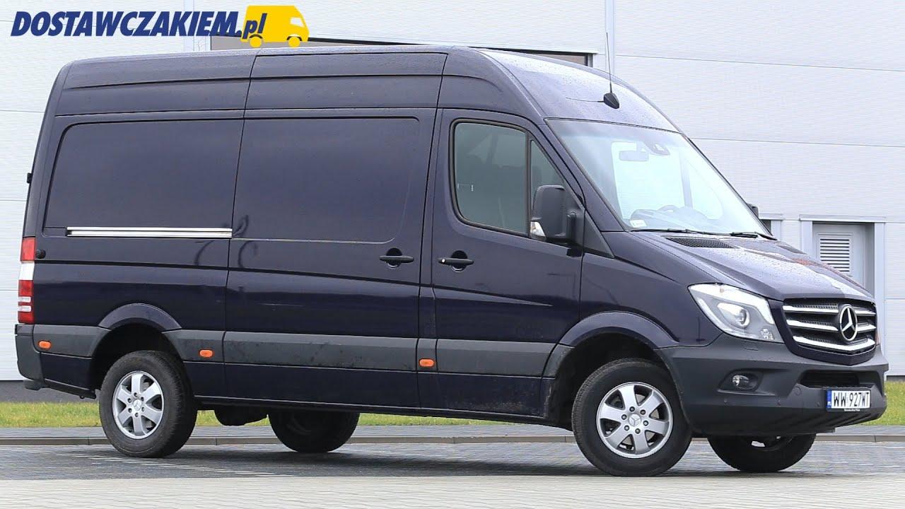 test mercedes sprinter 316 cdi furgon klasy premium youtube. Black Bedroom Furniture Sets. Home Design Ideas