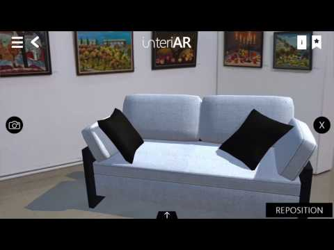 interiAR - Augmented Reality Application for Interior Design and Purchases