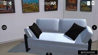 Interiar   Augmented Reality Application For Interior Design And Purchases