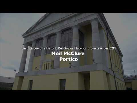 Shortlist 2018: Neil McClure - Portico. Cat 1: Best Rescue of An Historic Building.