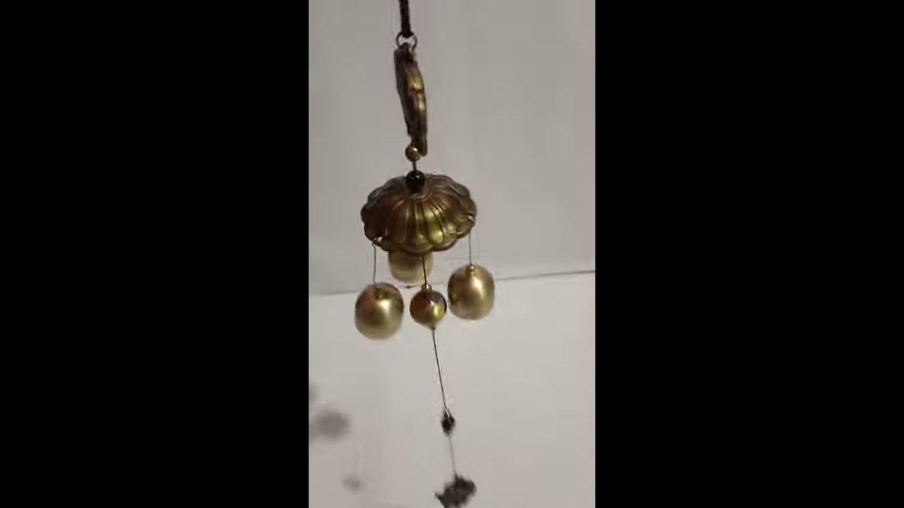Wind chime brass bell sweet music