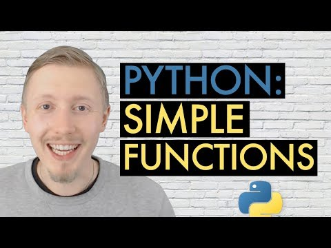 06 Beginner's Guide to Python - Functions