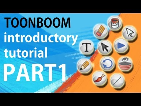 Toon Boom Animation - INTRODUCTORY TUTORIAL (PART 1) -  Preferences, Shortcuts, Tools and Interface