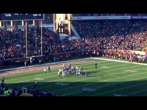 Blair Walsh Misses 27 yard field goal to win NFC Wildcard game vs Seattle Seahawks REACTION