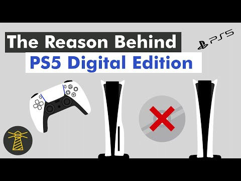 Why Sony Made The PS5 Digital Edition? (In 2 Minutes)