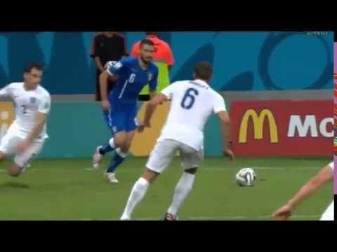 Mario Balotelli Goal - England vs Italy 1-2