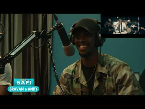 YVAN BURAVAN and ANDY BUMUNTU on RADIO SAFI- RWANDA
