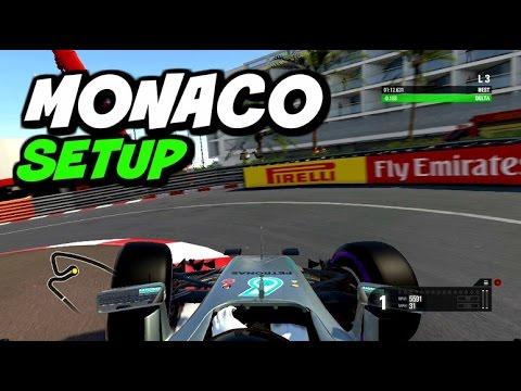 F1 2016 Monaco Hotlap + Setup (1:12.141)
