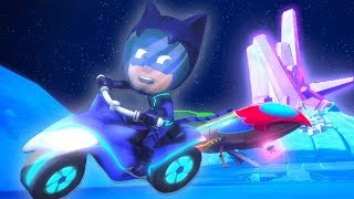PJ Masks Episodes | CLIPS ⭐️Catboy Bikes on the Moon ⭐️Cartoons for Kids