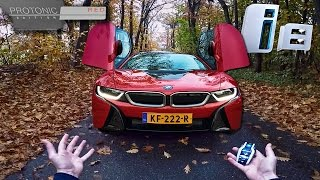 BMW i8 Review 2017 Protonic Red POV Test Drive