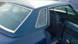 1976 Oldsmobile 98 Regency Sedan with less than 80 original miles