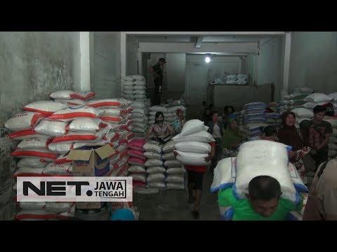 IMPORT BERAS KURANG TEPAT, PEDAGANG DI SURAKARTA PROTES - NET JATENG