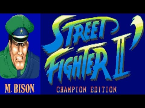 Street Fighter II - Champion Edition - Bison (Arcade)