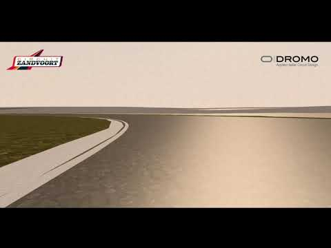 Dromo Zandvoort Simulation Lap for F1 Configuration 2020