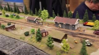 Oslo Model Railway 2016 | model railroads and trains: scale model train action