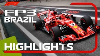 2018 Brazilian Grand Prix: FP3 Highlights
