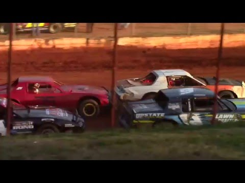 Hartwell Speedway Street Stock Feature Race 3/5/16