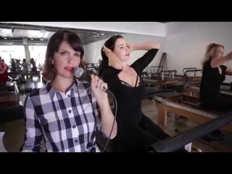 Inconvenient Interviews w/Risa: Pilates with Dita Von Teese | HelloGiggles