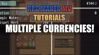 RPG maker MV Tutorial - MULTIPLE CURRENCIES!