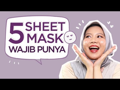 Rekomendasi Sheet Mask